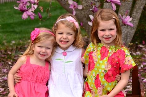 Wood Girls - spring 2012