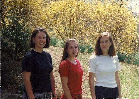 Woody girls in high school - Senior, Junior, Freshman.