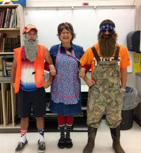 Would you remember a teacher who dressed like this?