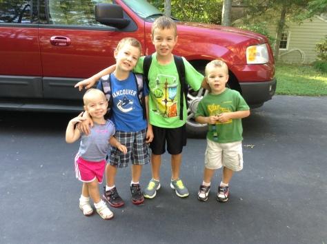 Hawkins - 1st day of school - 2024