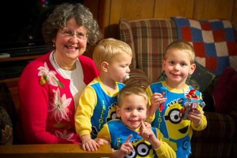 Nana and Minions