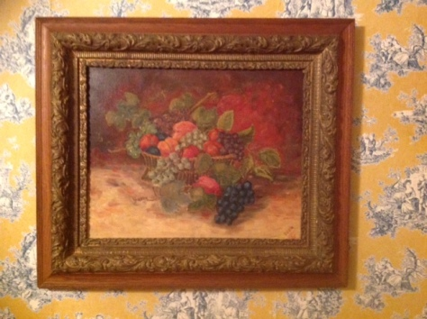 Painting by my Grandmother Svea Anderson Rohner